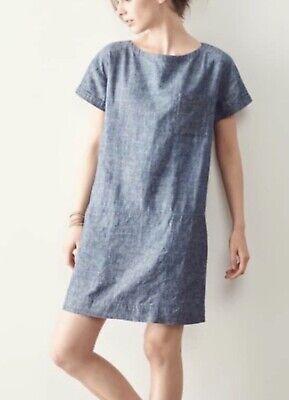 Eileen Fisher Hemp and Organic Cotton  Dress Size L/G