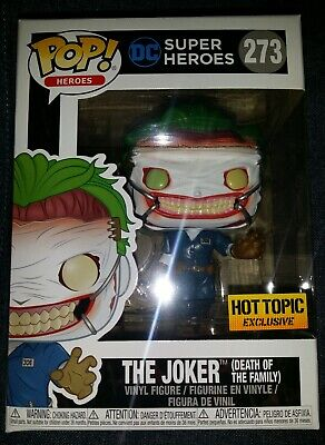 FUNKO POP! DC THE JOKER Death of the Family Hot Topic Exclusive IN STOCK  - Joker Death Of The Family
