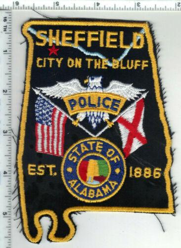 Sheffield Police (Alabama) 3rd Issue Shoulder Patch