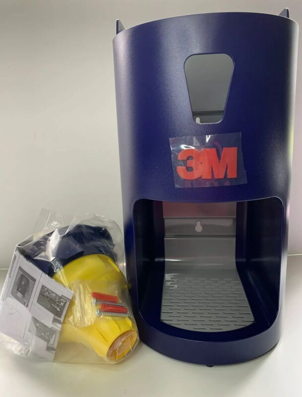 3M One Touch Pro Earplug Dispenser 391-0000, Blue, Wall or Table Mounting