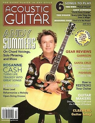 Acoustic Guitar Magazine #163 July 2006 - Andy Summers, Roseanne Cash