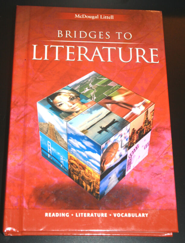 Bridges to Literature Vol. 2, Hardcover. Middle School, Homeschool, English Text