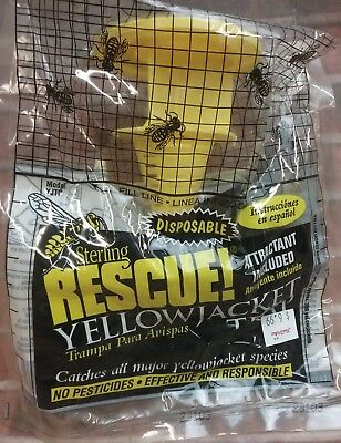 Sterling International Rescue! Eastern USA Yellow Jacket Disposable Trap 1 ct ()