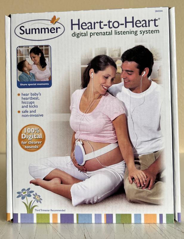 Summer Heart-to-Heart Digital Prenatal Monitor Listening System New