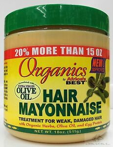 Organics hair mayonnaise extra olive oil