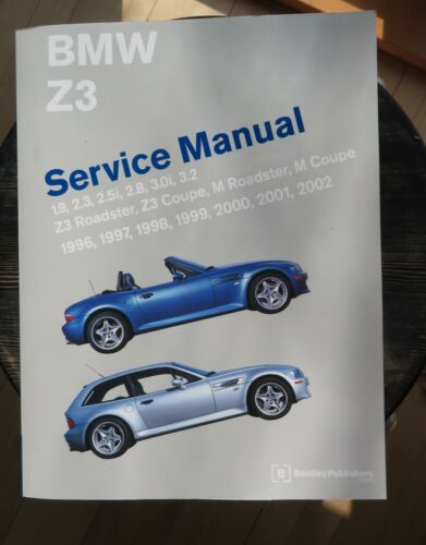 1996 to 2002 BMW Z3 service manual from Bentley publishing