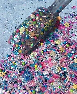 Glitter Mix Acrylic Gel Nail Art   Girl Next Door  Limited Edition
