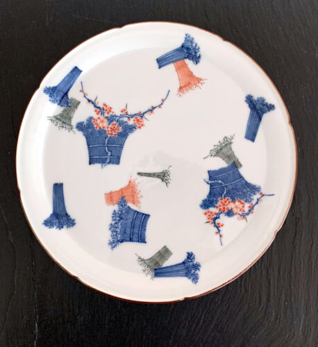 A Japanese Antique Kakiemon Plate from Arita