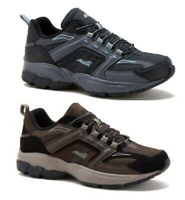 Avia Men's Brown or Black (Wide Width) Athletic Running Sneakers Shoes: 7-13
