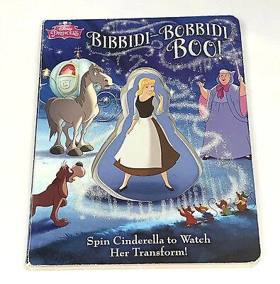 Disney Princess - Bibbity-Bobbity-Boo! (2015, Board Book)