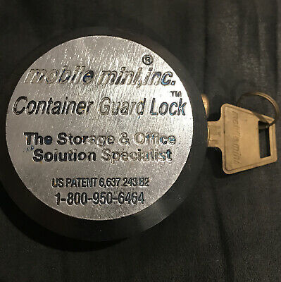 Mobile Mini Inc. Container Guard Lock With Original Key - Free Shipping
