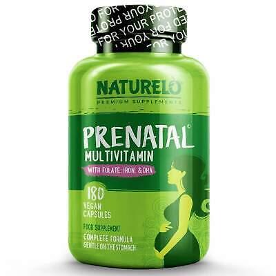 NATURELO® | Prenatal Natural Whole Food Multivitamin -Natural Vitamins
