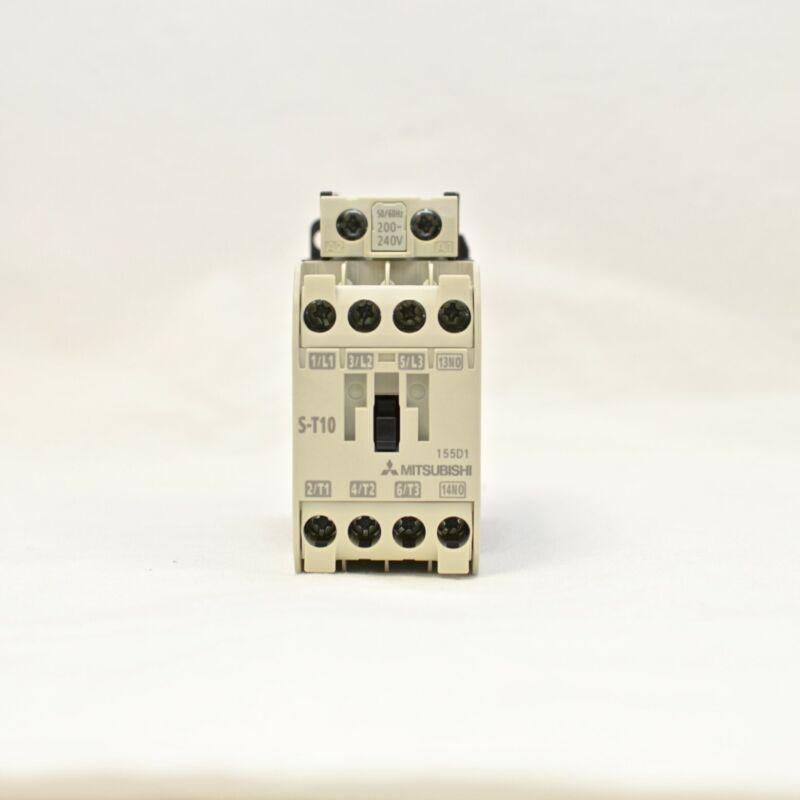 MITSUBISHI Magnetic Contactor S-T10 3A1a Coil: 200V-240V
