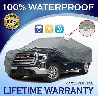 100% Weatherproof Full Pickup Truck Cover For GMC Sierra [2000-2020]