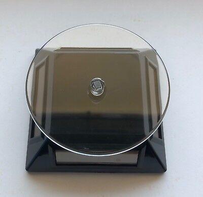 Black Solarlight Powered Rotating Display Gemsjewelrycraftsmodels More
