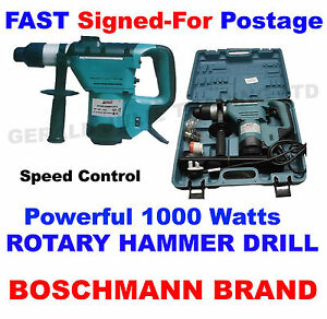 Boschmann-1000W-230V-240V-Powerful-SDS-Rotary-Hammer-Drill-Demolition-Tool-Kit