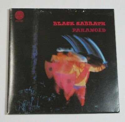 Black Sabbath Paranoid JAPAN CD MINI LP