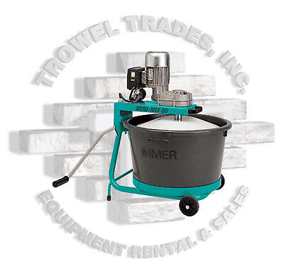 Imer 1193981 Mini Mix 60 Electric Bucket Mixer Portable Mortar Epoxy Plaster Mix