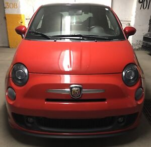 Fiat 500 Turbo + Toit + Cuir + Abarth Exhaust