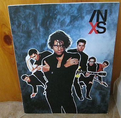 Inxs 1990 X Concert Tour Program Book    Michael Hutchence