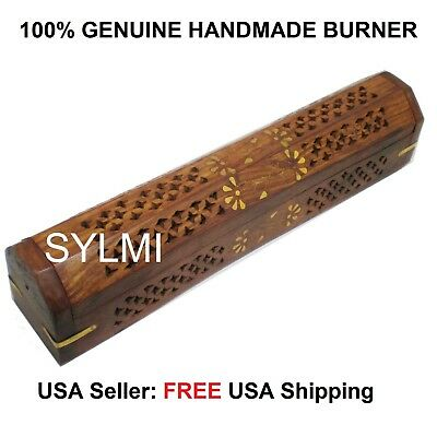 11 Inch Catchers Mitt (Premium COFFIN BOX INCENSE BURNER Sticks Cones 12