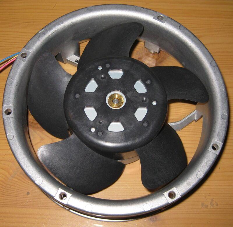 172mm Dia. Round DC Fan  x 51mm - 250 CFM - 24 V - 3350 RPM - PM240-24D  22 Watt