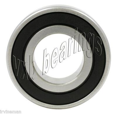 (6003-2RS Bearing Deep Groove Rubber Sealed Ball Bearings 17mm Axle Bore Diameter)