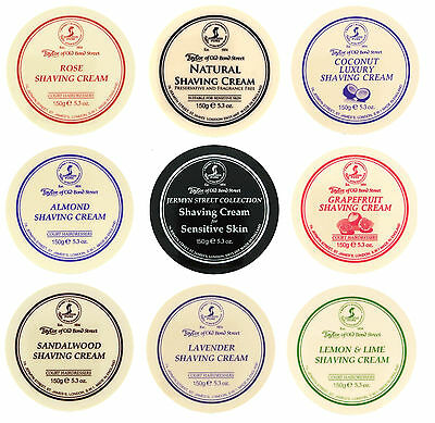 Taylor Of Old Bond Street Traditional Shaving Cream Bowls Men Face Grooming 150g