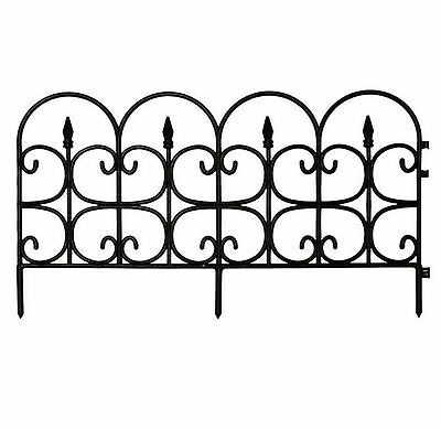 Persuadable Garden Fence Border Decor Panels Fencing Landscape Lawn Edging 12 Quit