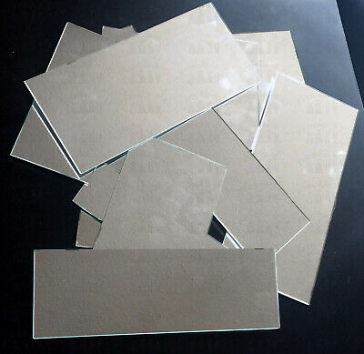 New Glass Mirror Tile Offcuts - 2KG Lot Various Sizes, Craft, Mosaic, Hobby Use