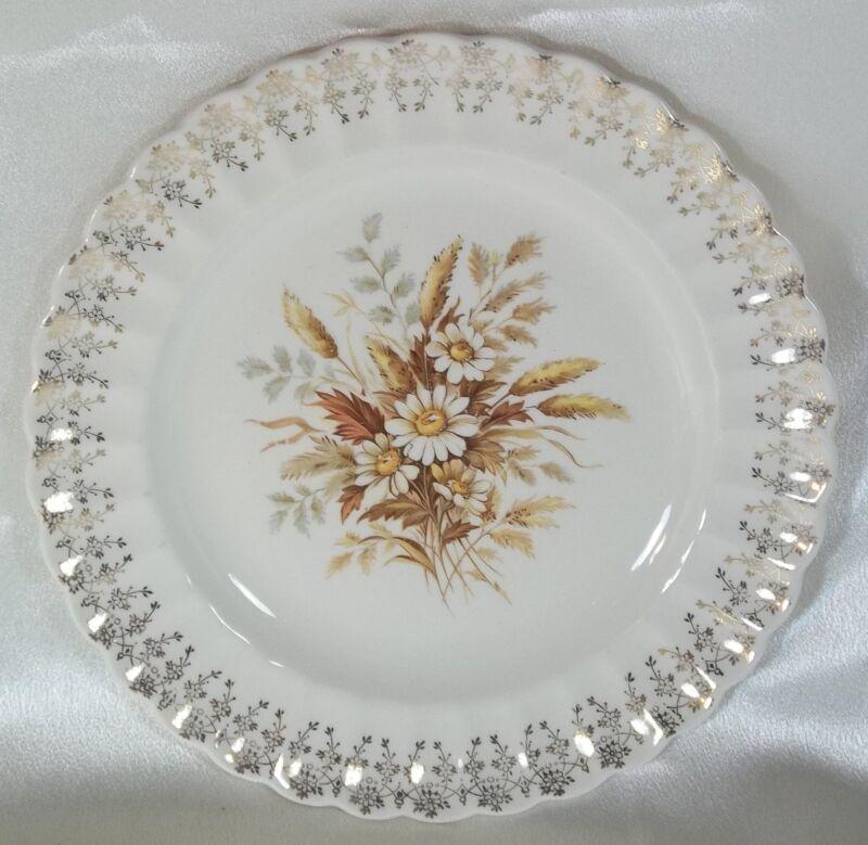 Limoges - American Dinner Plate Sundale #1KS222X 22K Gold Filigree White