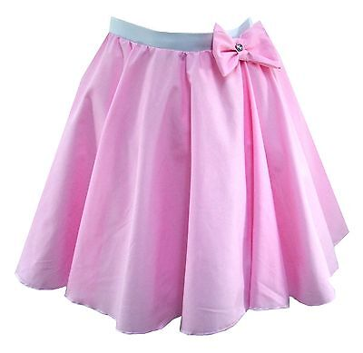 PLUS SIZE Bow Circle skirt, Rock N Roll, dance, show, 50s 60s, Hairspray theatre ()
