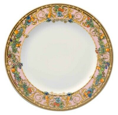 "Authentic VERSACE for ROSENTHAL Butterfly Garden 8.5"" Salad Dessert Plate NIB"