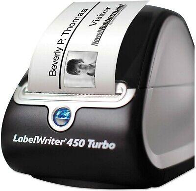 Dymo Labelwriter 450 Turbo Desktop Thermal Label Printer W2 Rolls Address Label