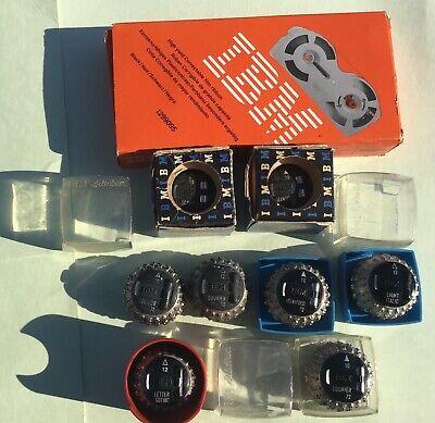 7 Ibm Selectric Typewriter Font Balls 1299095 Black Ribbon