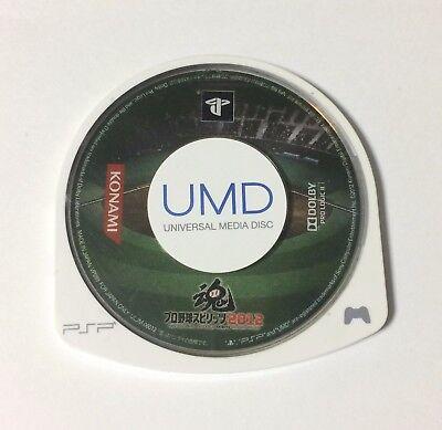 USED PSP Disc Only Pro Yakyuu Spirits 2012 JAPAN PlayStation Portable Baseball