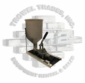 Grout Pump GP-2HD Kenrich Products 4.6 Gallon Hand Operated Grout Pump