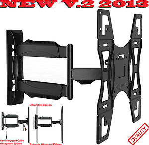 TV Wall Mount Bracket Tilt Swivel 32 37 40 42 46 50 51 52 inch LCD LED PLASMA