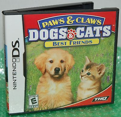 Nintendo DS Paws & Claws Dogs & Cats Best Friends Video Game - Love Cuddle