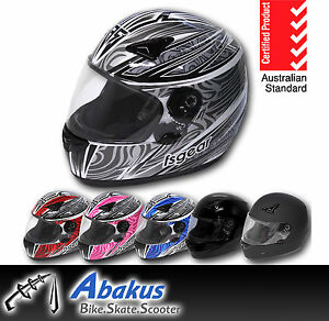 Full-Face-Road-Bike-Helmet-AS-NZS1698-Motorbike-Gear-Motorcycle-Accessory