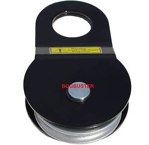 BOGBUSTER SNATCH BLOCK 8 TONNE WINCH ROPE CABLE PULLEY 4X4 4WD Beldon Joondalup Area Preview