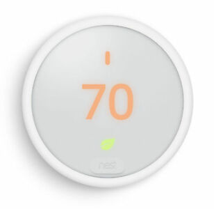 Nest Programmable Thermostat E - White  New!
