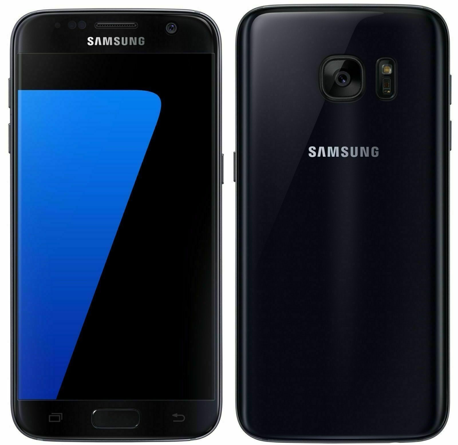 Android Phone - Samsung Galaxy S7 SM-G930 - 32GB - Black (Unlocked)