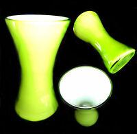 Vaso Verde In Vetro Di Murano - Barovier, Poli, Seguso - Vase Glass 14,5x8 -  - ebay.it