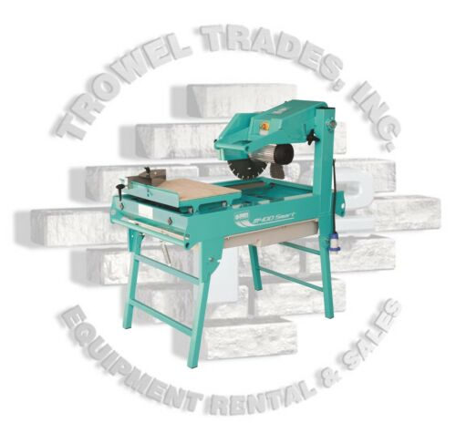 "Imer Masonry 350 Smart Cut Saw 14"" Masonry Saw 2HP 110 Volt 15 AMP"