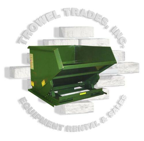 Jesco Husky Self Dumping Trash Hopper 1.5 Yard 6,000 Lb Capacity
