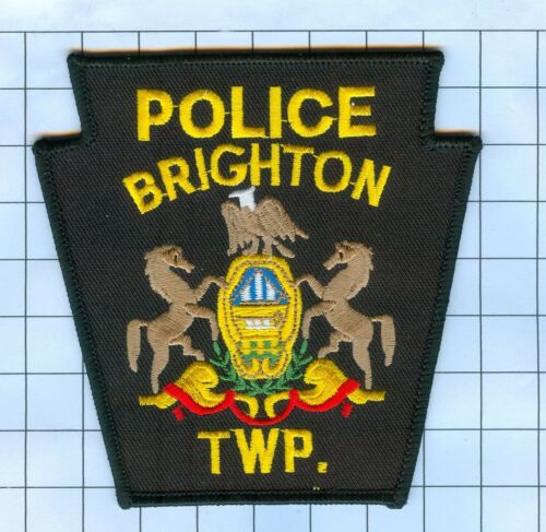 POLICE PATCH - BRIGHTON TWP. PENNSYLVANIA POLICE PATCH