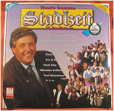 Stadlzeit, Karl Moik,Schürzenjäger,Lindner,Truck Stop, VG/VG 2 LP (3373)