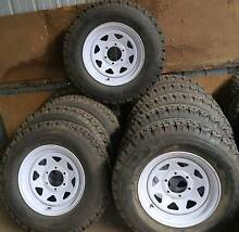 trailer or caravan rims/tyres 215 R 16 C Drouin Baw Baw Area Preview