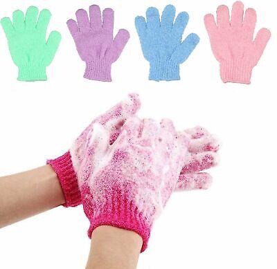 Exfoliating Spa Bath Gloves Shower Soap Clean Hygiene Body Scrub Loofah Massage Bath & Body